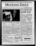 Mustang Daily, October 13, 1986