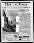 Mustang Daily, October 14, 1986