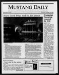 Mustang Daily, October 16, 1986