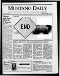 Mustang Daily, October 17, 1986