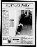 Mustang Daily, October 21, 1986