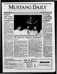 Mustang Daily, October 23, 1986
