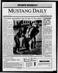 Mustang Daily, October 27, 1986