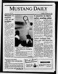 Mustang Daily, October 28, 1986
