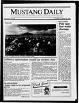 Mustang Daily, October 30, 1986