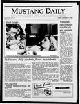 Mustang Daily, October 31, 1986