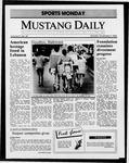 Mustang Daily, November 3, 1986