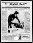 Mustang Daily, November 4, 1986