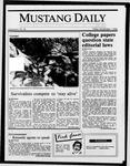 Mustang Daily, November 7, 1986
