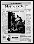 Mustang Daily, November 10, 1986