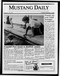 Mustang Daily, November 13, 1986