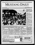 Mustang Daily, November 14, 1986