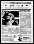 Mustang Daily, November 17, 1986