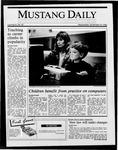 Mustang Daily, November 19, 1986