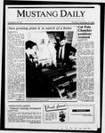 Mustang Daily, November 20, 1986