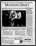Mustang Daily, November 21, 1986