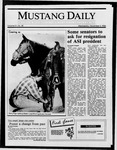 Mustang Daily, December 3, 1986