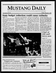 Mustang Daily, January 9, 1987
