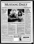 Mustang Daily, January 12, 1987
