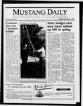 Mustang Daily, January 13, 1987
