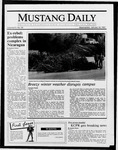 Mustang Daily, January 14, 1987