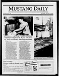 Mustang Daily, January 15, 1987
