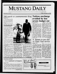 Mustang Daily, January 16, 1987