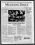 Mustang Daily, January 21, 1987