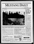 Mustang Daily, January 22, 1987