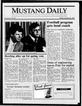 Mustang Daily, January 23, 1987