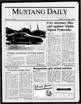 Mustang Daily, January 27, 1987