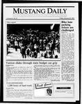 Mustang Daily, January 30, 1987