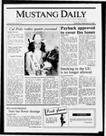 Mustang Daily, February 9, 1987