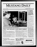 Mustang Daily, February 25, 1987