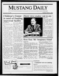 Mustang Daily, March 3, 1987