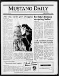 Mustang Daily, March 13, 1987