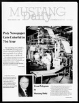 Mustang Daily Commemorative Issue, March 13, 1987