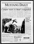 Mustang Daily, April 1, 1987