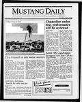 Mustang Daily, April 9, 1987