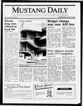 Mustang Daily, April 15, 1987