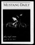 Mustang Daily, April 24-25, 1987