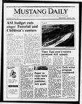 Mustang Daily, April 29, 1987