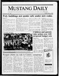 Mustang Daily, May 1, 1987