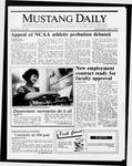 Mustang Daily, May 6, 1987