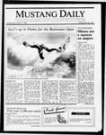 Mustang Daily, May 27, 1987