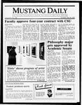 Mustang Daily, May 28, 1987