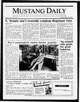Mustang Daily, May 29, 1987