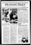 Mustang Daily, September 25, 1987