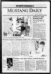 Mustang Daily, September 28, 1987