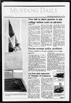 Mustang Daily, September 30, 1987